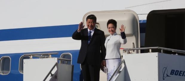Chinas Präsident Xi mit Gattin. (Fotoverantw./URG Suisse: Blasting.News Archiv)