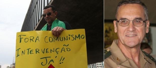 Comandante descarta intervenção militar no Brasil (Foto: Reprodução)