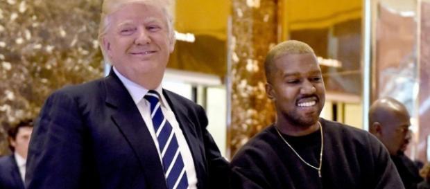 EN IMAGES. Quand Kanye West rencontre Donald Trump, ils parlent de ... - leparisien.fr