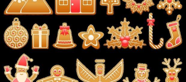 Fiocchi di Natale glassati per le feste