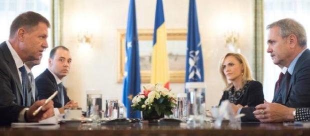 Klaus Iohannis nu-l vrea pe Liviu Dragnea la Palatul Victoria