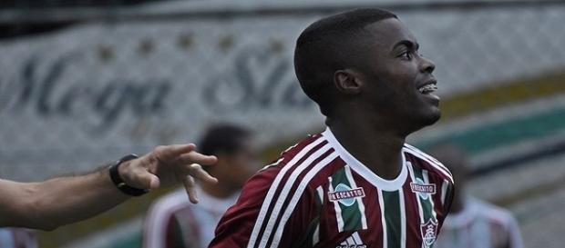 Matheus Alessandro, um dos destaques do Sub-20 do Fluminense (Foto: Globo Imagens)