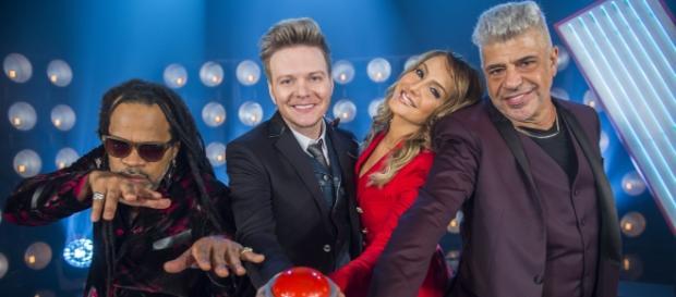 Os quatro técnicos do The Voice Brasil