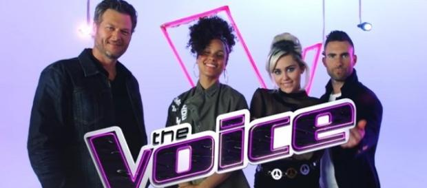 'The Voice' Top 4 perform tonight for the finale (via YouTube The Voice)