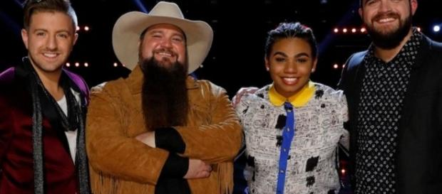 'The Voice' winner revealed tonight - will it be Billy, Sundance, We, or Josh? (via Twitter NBC The Voice)