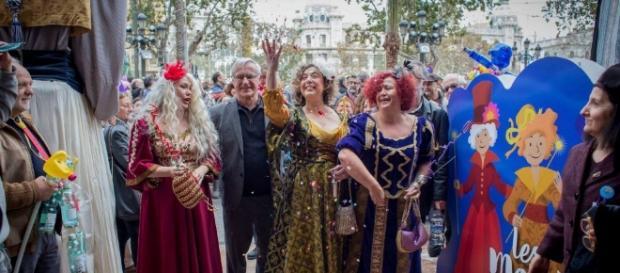 Tres 'reinas' magas republicanas toman el Ayuntamiento de Valencia ... - elmundo.es