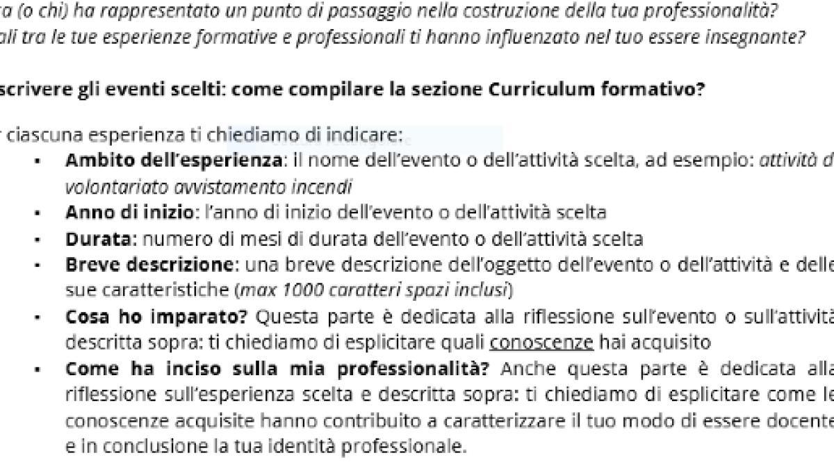 Formazione Neoassunti E Pilare Correttamente Il Curriculum