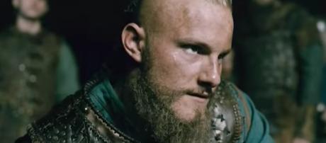 "Bjorn (Alexander Ludwig) in ""Two Journeys""/Photo via screencap, 'Vikings'/History Channel"