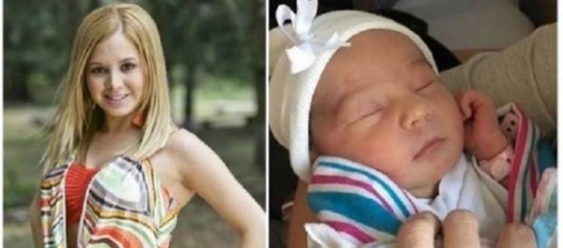 A criança ganhou o nome de Aitana (Foto: Reprodução/Instagram/Internet)