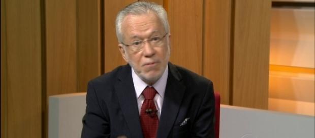 Alexandre Garcia, jornalista da Rede Globo