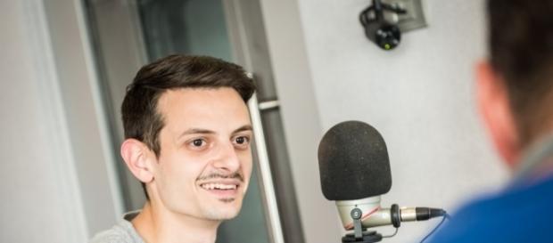 Fabio Rovazzi fotografato a 105.net
