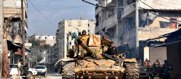 Guerra civil en Siria | El régimen sirio celebra la reconquista de ... - rtve.es