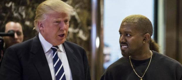 La rencontre de Kanye West et Donald Trump. - gala.fr