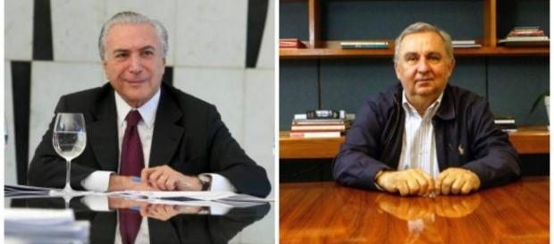 Michel entrega Bumlai (Foto: André Dusek e Gabriela Bilo/Estadão)