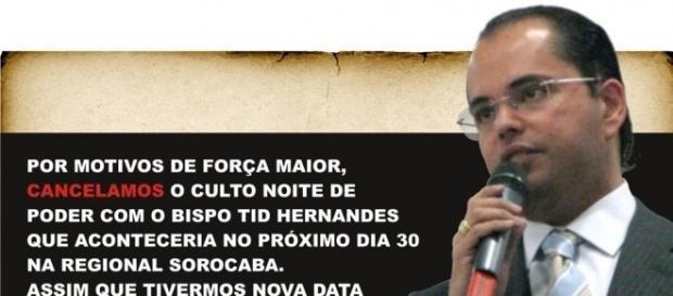 Noite de Poder com o Bispo Tid cancelada!!! | .:GRP - Geração ... - blogspot.com
