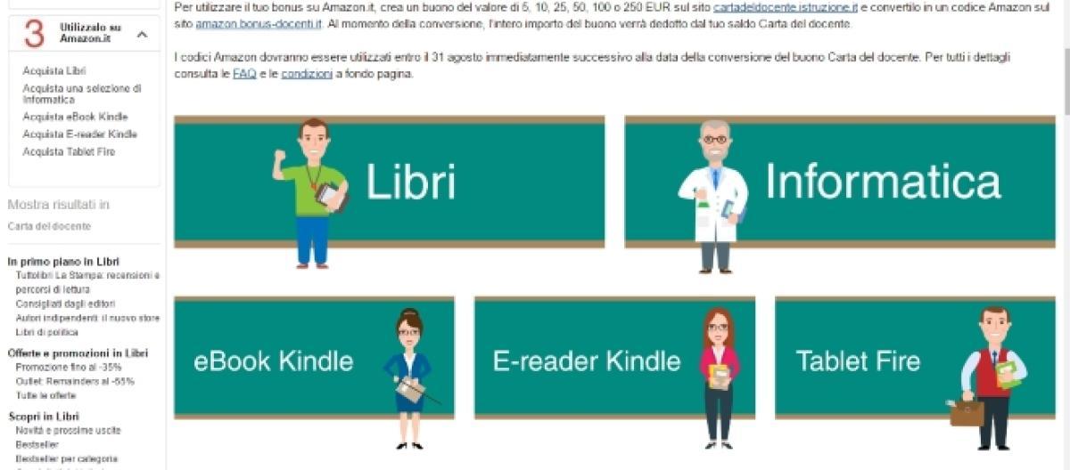 fe9912d70f Come acquistare su Amazon utilizzando il buono docenti - Guida Completa