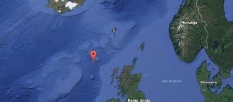 Maior onda do mundo ocorreu entre a Islândia e o Reino Unido em 2013 | Foto: Google Street View/Reprodução