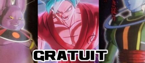 Xenoverse 2: Super Saiyan Blue Kaioken GRATUIT  Champa et