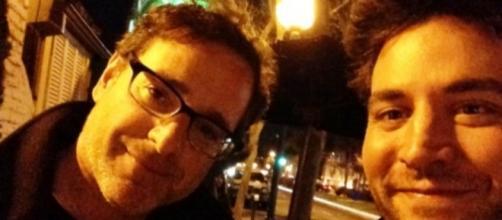 Os atores Bob Saget e Josh Radnor