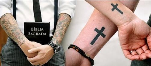 Tatuagem no corpo dos cristãos.
