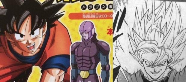 Dragon Ball Super- Black Goku Super Saiyajin 2 y no SSJ Rose.