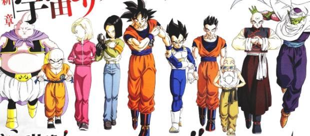 el equipo mas fuerte del universo 7