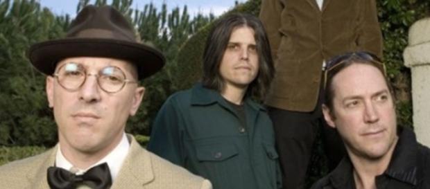 I quattro musicisti che formano la band dei Tool