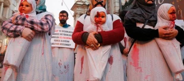 Suicídio vira tática contra estupro, na Síria - Imagem/Reuters
