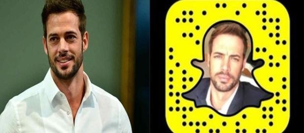 William Levy cria perfil no Snapchat