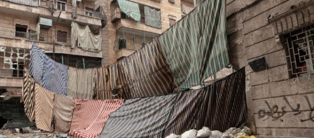 Zerstört, aber befreit: Aleppo in Syrien. (Fotorverantw./URG Suisse: Blasting.News Archiv)