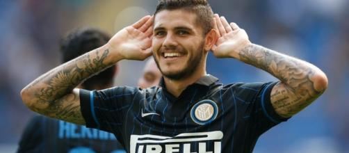 Icardi célébrant un but (via footransferts.com)
