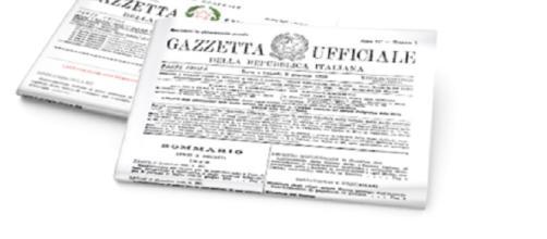 Il testo della Gazzetta Ufficiale