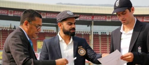 India vs England,5th test Kohli at the toss ... - ndtv.com