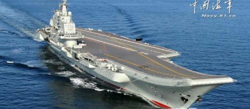 La Cina potenzia la propria portaerei | Aurora - wordpress.com