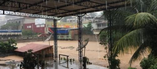O Espírito Santo está sofrendo com as chuvas que caíram no estado e a previsão é de mais água nos próximos dias