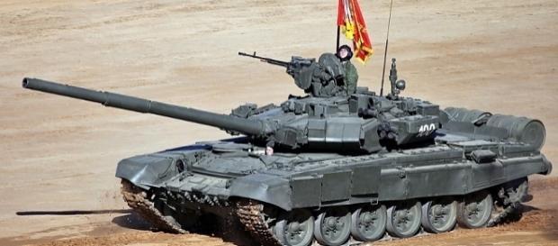 Czy Rosjanie będą musieli znowu przyjść nas wyzwalać? Czołg T-90 Tagił. CC B-Y 4.0, Vitaly V. Kuzmin