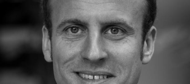 Emmanuel Macron candidat portrait - CC BY