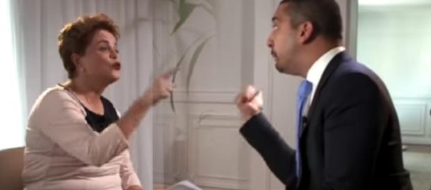 Ex-presidente Dilma Rousseff é pressionada em entrevista para a Al Jazeera