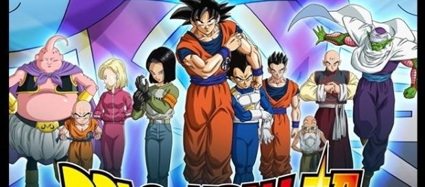 Goku y los demás participantes del torneo Universal por parte del Universo 7