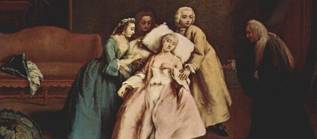 Imagem representando um desmaio, principal sintoma da síndrome Vasovagal