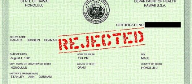 Breaking: Obama birth certificate a proven forgery