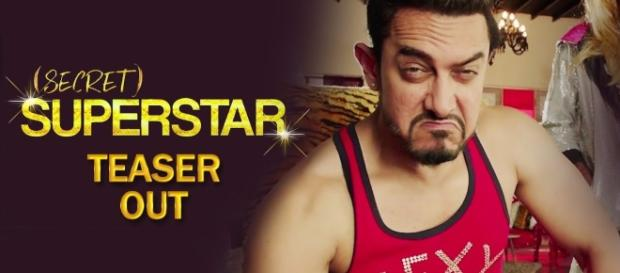 Screenshot from Secret Superstar teaser from youtube/zee studios