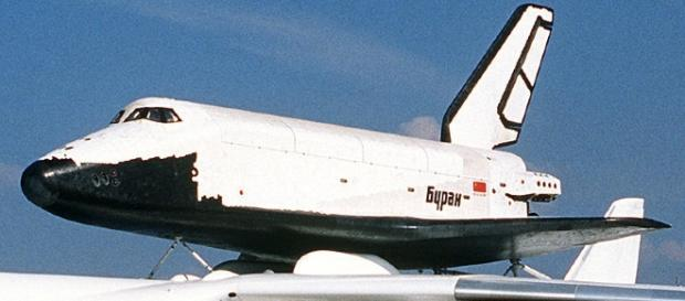 Soviet space shuttle Buran (Courtesy DOD)