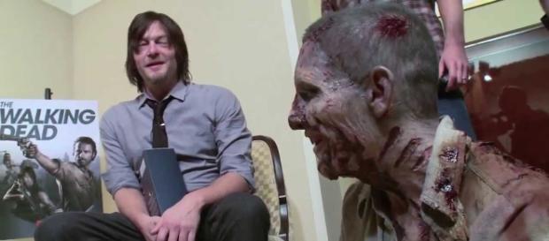 The Walking Dead : Découvrez comment Andrew Lincoln et Norman Reedus se piégent mutuellement