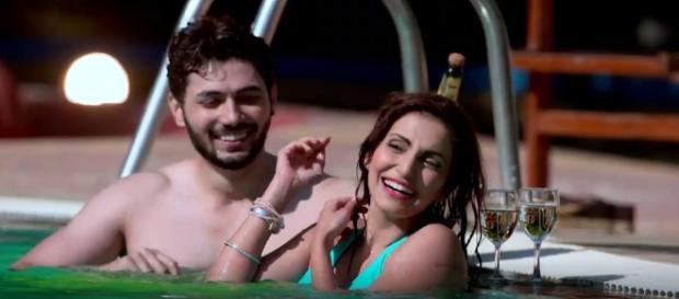 Tia and Robin in 'Ishqbaaz' (Youtube screengrab)