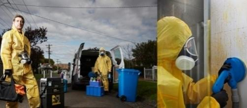 Empresa especializada em limpeza de locais de mortes. (foto: Reprodução/Josh Marsden/LinkedIn)