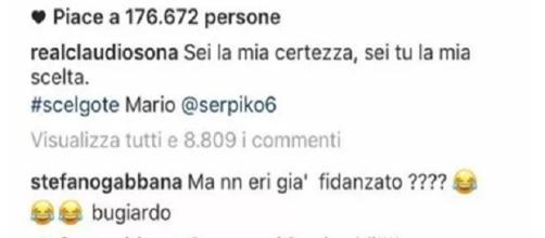 Gossip: Stefano Gabbana e Claudio Sola -foto tratta da Istangram-