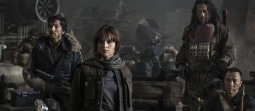 Lucasfilm Reveals STAR WARS: ROGUE ONE Cast at D23 | Nerdist - nerdist.com