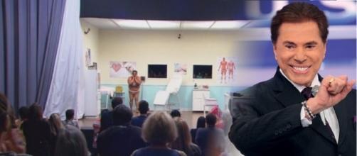 Silvio Santos mostra pegadinha do 'Falso Consultório Médico'