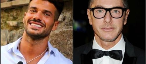 Stefano Gabbana e Claudio SONA